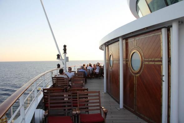 Ocean Bar auf der AIDA