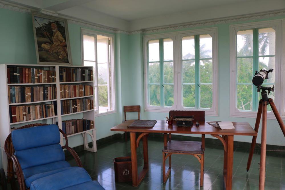 Arbeitszimmer von Hemingway