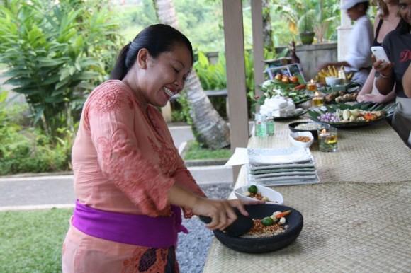 Unsere Kochlehrerin