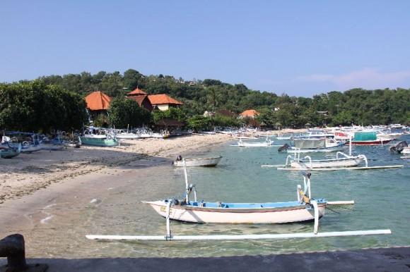 Padang Bai Bucht