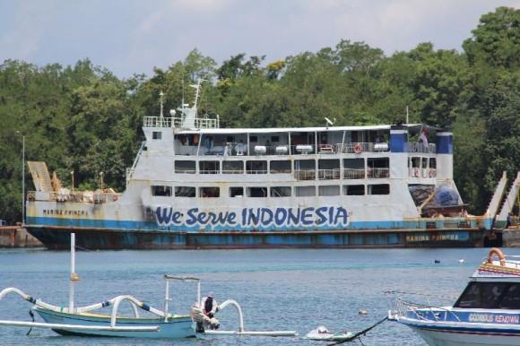 Indonesische Fähre