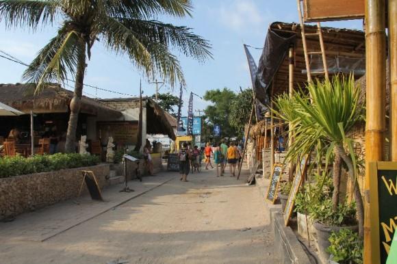 Gili Trawangan, Hauptstrasse