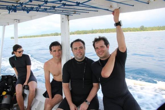 Drei Diver